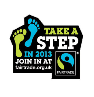 Take a Fairtrade step in 2013